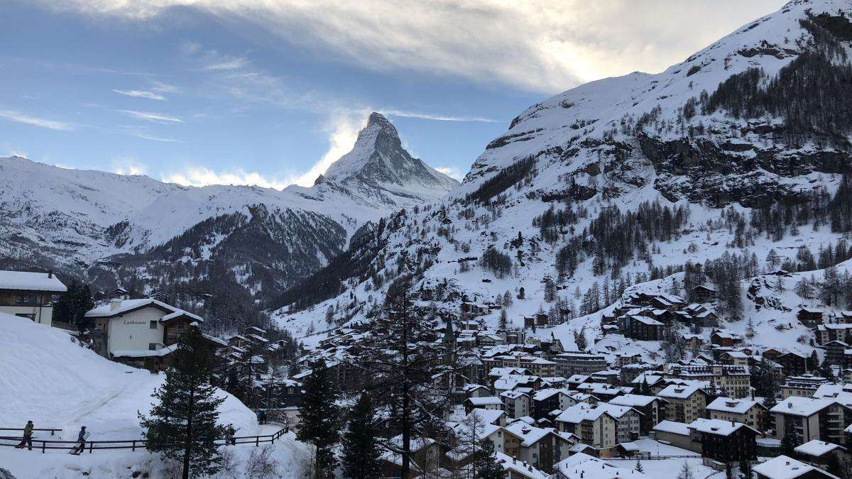 Zermatt open air Party