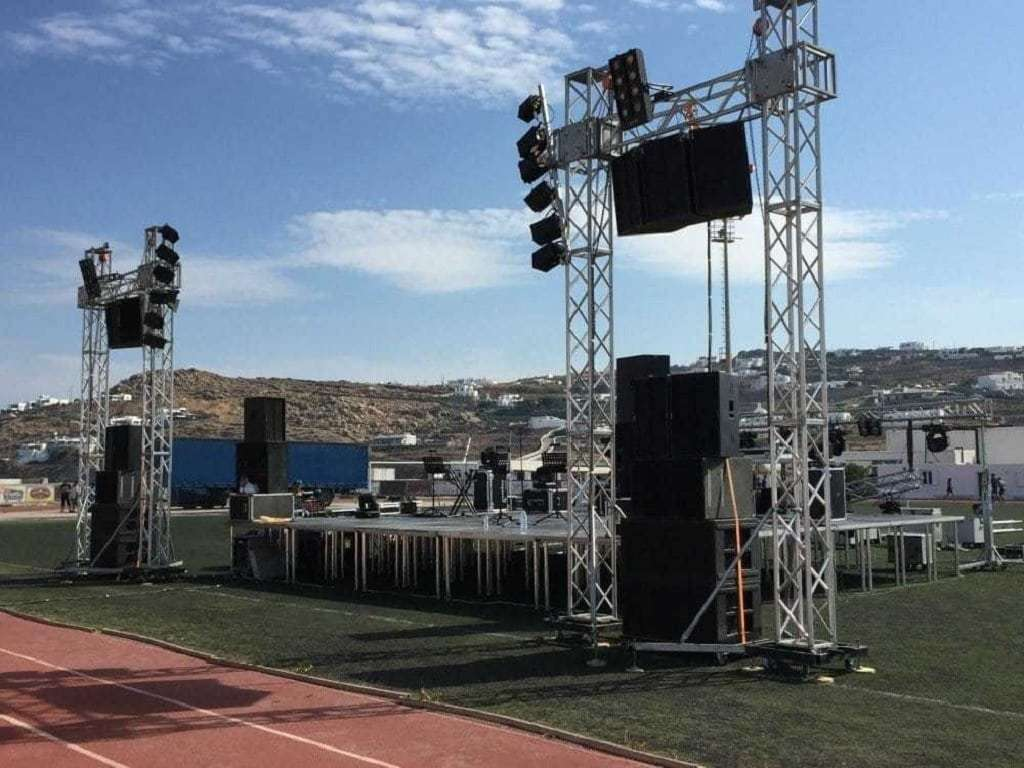 Live Concert & Audiovisual Equipment